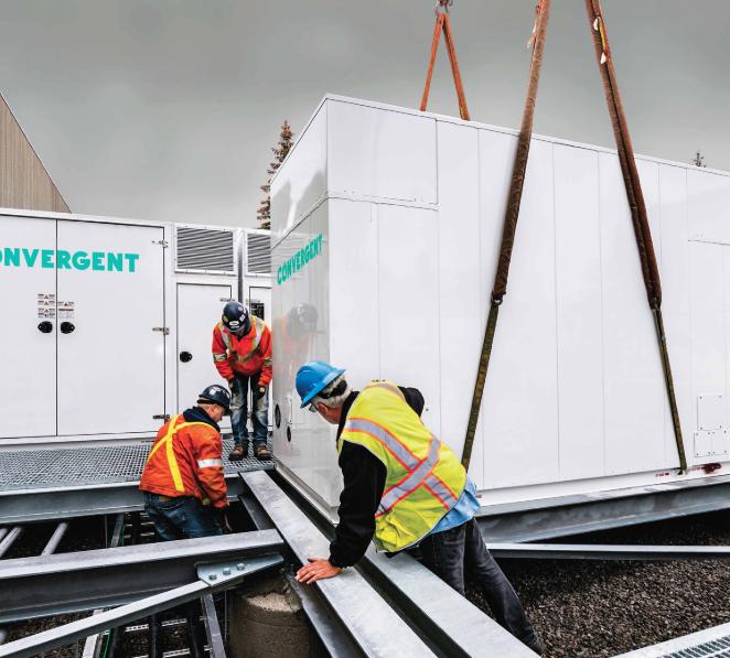 Convergent energy storage system