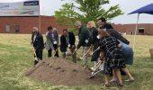 Grundfos Canada expansion groundbreaking ceremony.