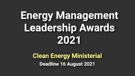 Open! CEM Energy Management Leadership Awards 2021